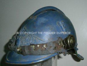 French Casque de Cavalerie 1915.Troopers (Prototype)Horizon Blue.