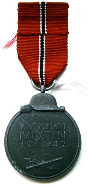 German Medal for Winter Campaign in Russia 1941-42(East Front medal, Winterschlacht Im Osten 1941-42)
