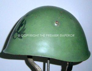 Italian M33 MVSN Black Shirts steel helmet.