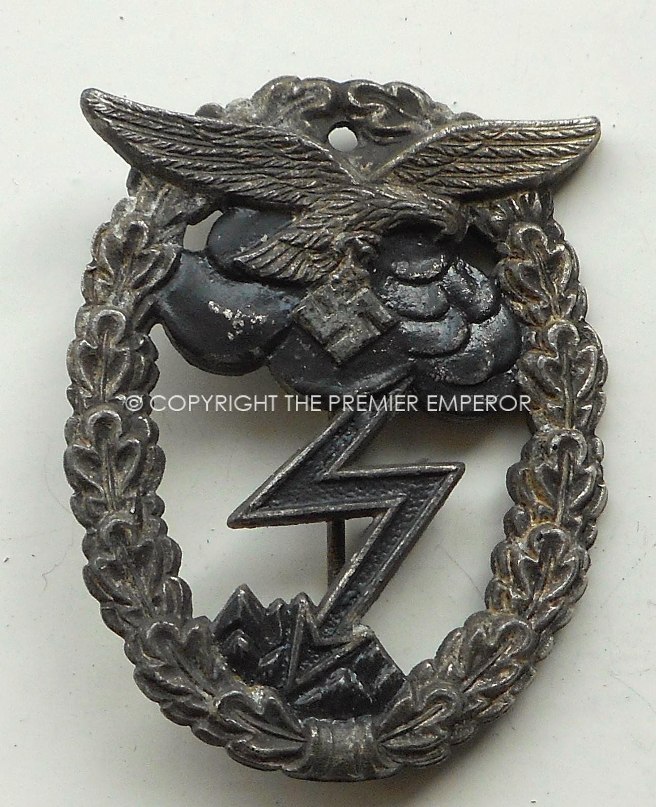 German Luftwaffe Ground Combat badge 1942-45