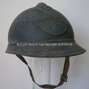 Rare French Airforce Adrian helmet 1915.