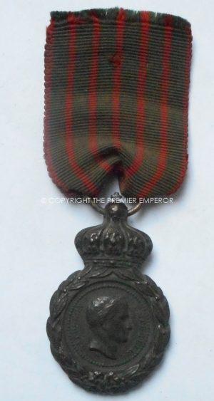 FRANCE SAINT HELENA MEDAL 1857.Médaille de Sainte-Hélène.