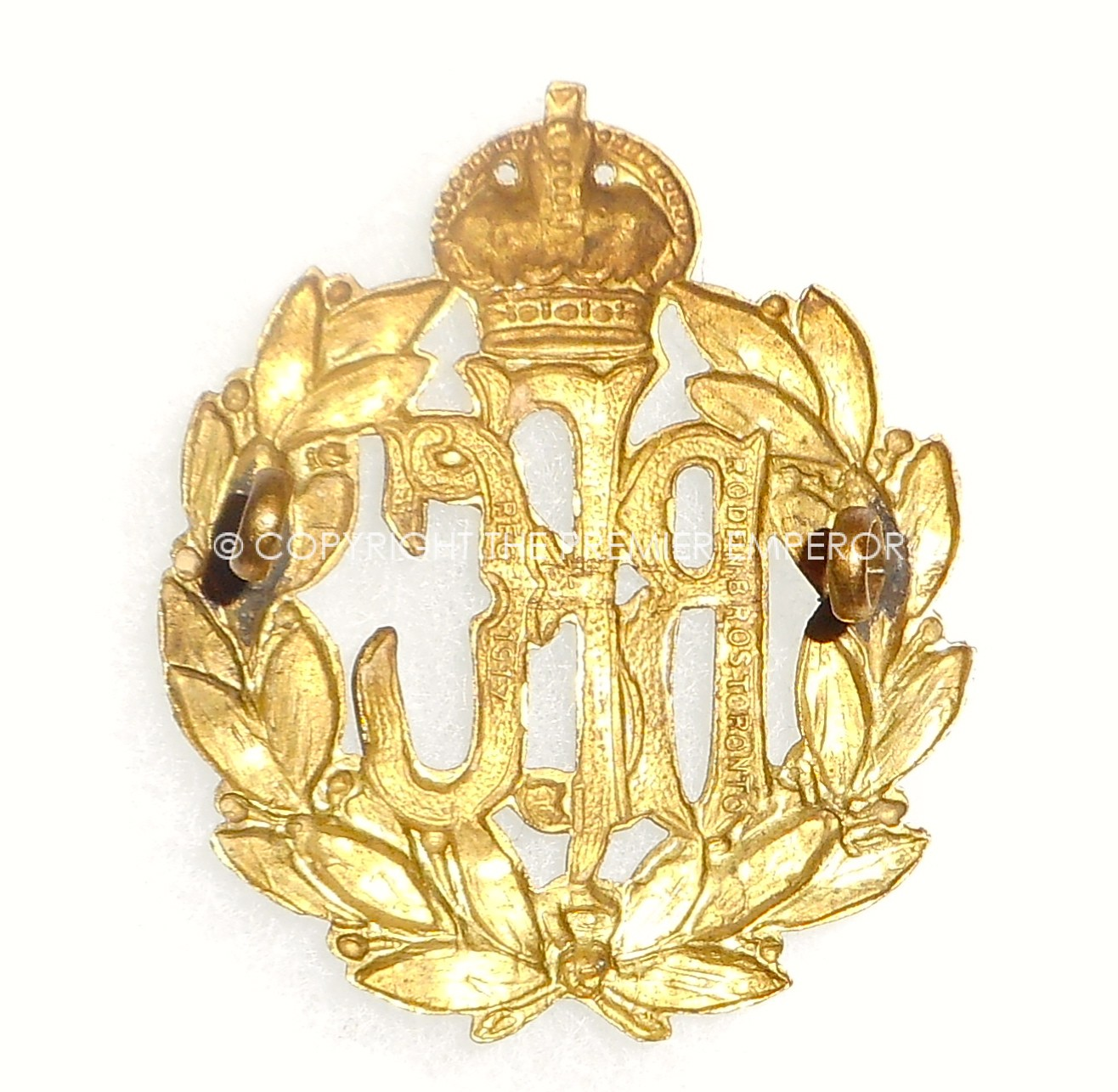 canada canadian manufactured royal flying corps cap badge. Black Bedroom Furniture Sets. Home Design Ideas