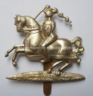 BRITISH FIFE & FORFAR YEOMANRY CAP BADGE. Circa.1908-22