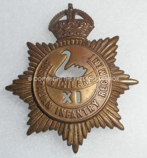 AUSTRALIA. 11th BATT. AUSTRALIAN INFANTRY REGIMENT. Circa.1930-40