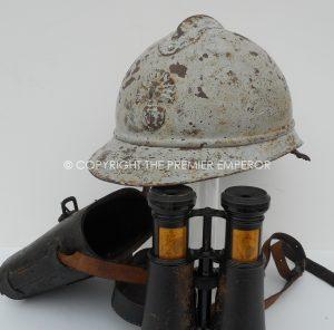 A VERY SCARCE GREAT WAR 1914-18 BALLOON OBSERVERS ENSEMBLE.125th Regiment D'Infanterie.