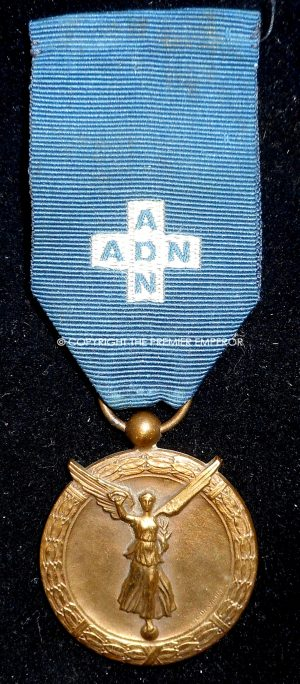 FRANCE. A.D.N. medal.(ASSISTANTES DU DEVOIR NATIONAL).1914-1918