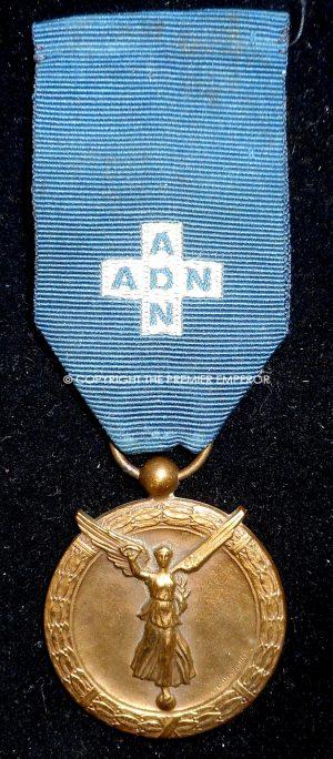 FRANCE. A.D.N. medal.(ASSISTANTES DU DEVOIR NATIONAL).1914-1918