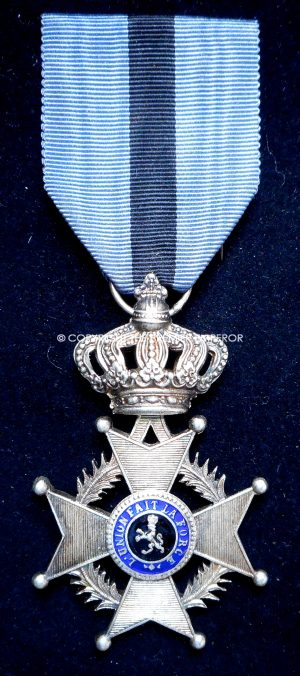 BELGIUM. Order of Leopold 2nd Type Knights badge.(French type).