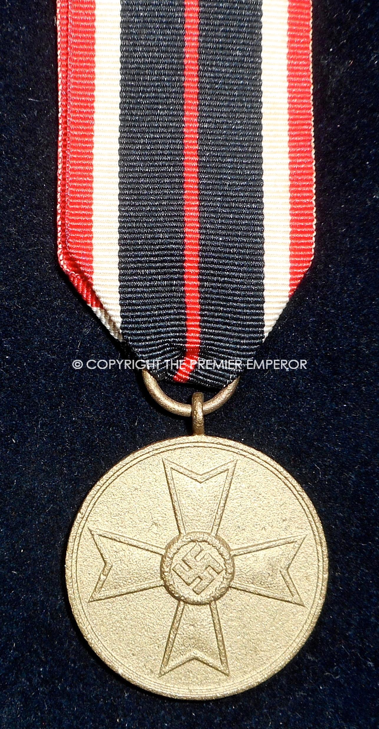 German War Merit medal Circa 1939 (Kreigsverdienstmedaille)