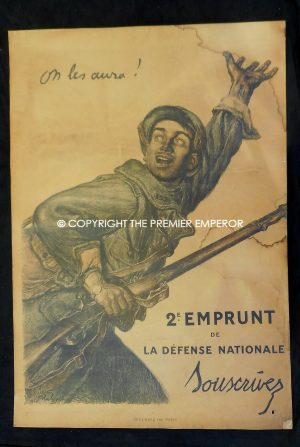 FRANCE. First War French Propaganda poster.Circa.1914/1918