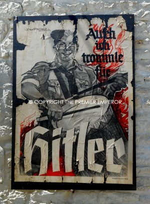 German Hitler Youth poster by Hugo Filcher Munchen.Circa.1930's