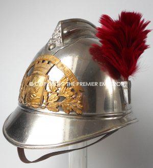 A French Sapeur Pompier Officier de Compagnie helmet.Circa.1885-1895