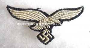 German Luftwaffe Other Ranks breast eagle National emblem. Circa.1939
