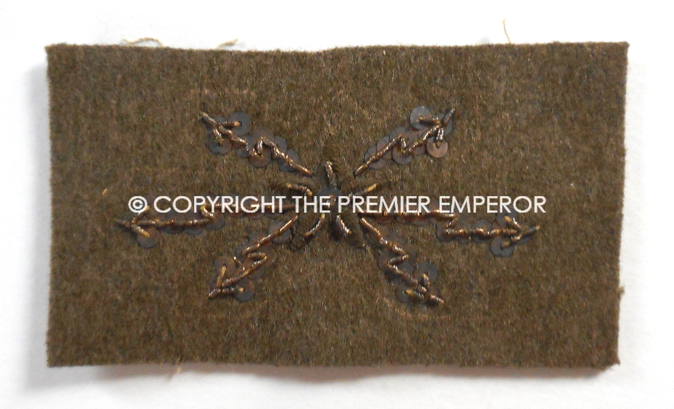 French Army 1940 Telephonistes et Telegraphistes bullion trade badge
