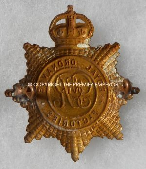 British Royal Ordnance Factories cap badge Circa.1939/45