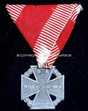 Austria. Karl Truppen Kreuz. circa.1916