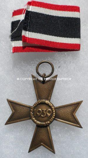 German War Merit Cross 2nd Class Non-Combatants.Circa.1939.(Kriegsverdienst II ohne Schwerter)