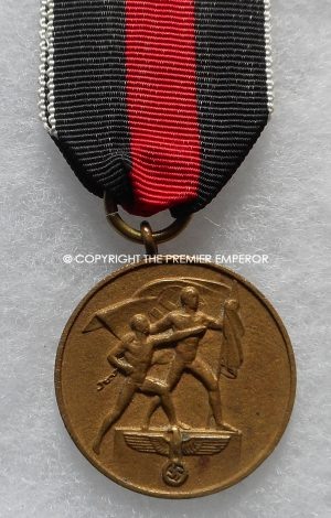 German Commemorative medal 13th March 1938 (Medaille zur Erinnerung an den 13 Marz 1938)