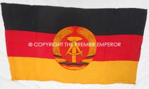 East German GDR National flag. Circa.1959-1990