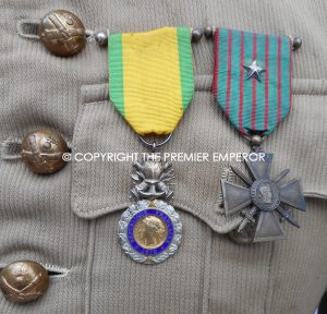 France. 106th Regt.D'Artillerie Officer's Overseas tunic.Circa.1930-1940