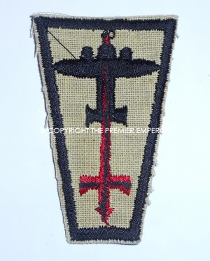 British 1st Anti-Aircraft Division formation sign 2nd Pattern.Circa.1939/40