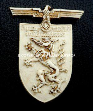 German Tinnie/Day badge. 'Gau-tag der N.S.D.A.P.Steiermark 1939