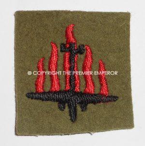 British 5th Anti-Aircraft Division formation sign.Circa.1939