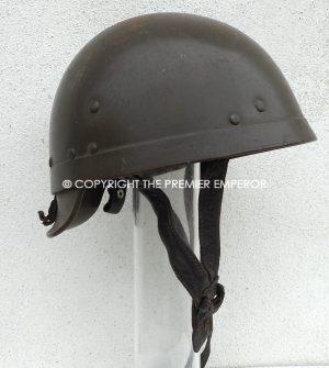 France Indochine/Algeria period Tank Crew helmet Circa.1954