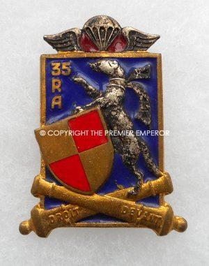 France 35° Régiment d'Artillerie Parachutiste.insignia.