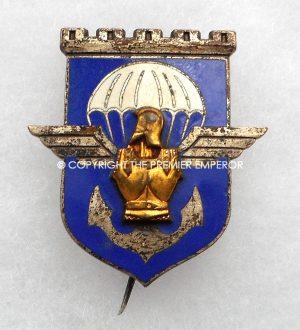 France  17° Régiment de Génie Parachutiste insignia.