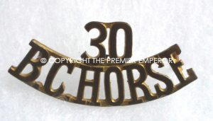 Canada. 30th British Columbia Horse shoulder title.