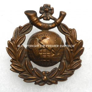 British Royal Marine Light Infantry cap badge.Circa.1914/1918