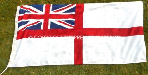 British Royal Navy White Ensign.Circa.1980's