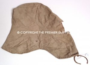 France. Extremely Rare 1914/1918 Dragoon helmet khaki coloured cover.