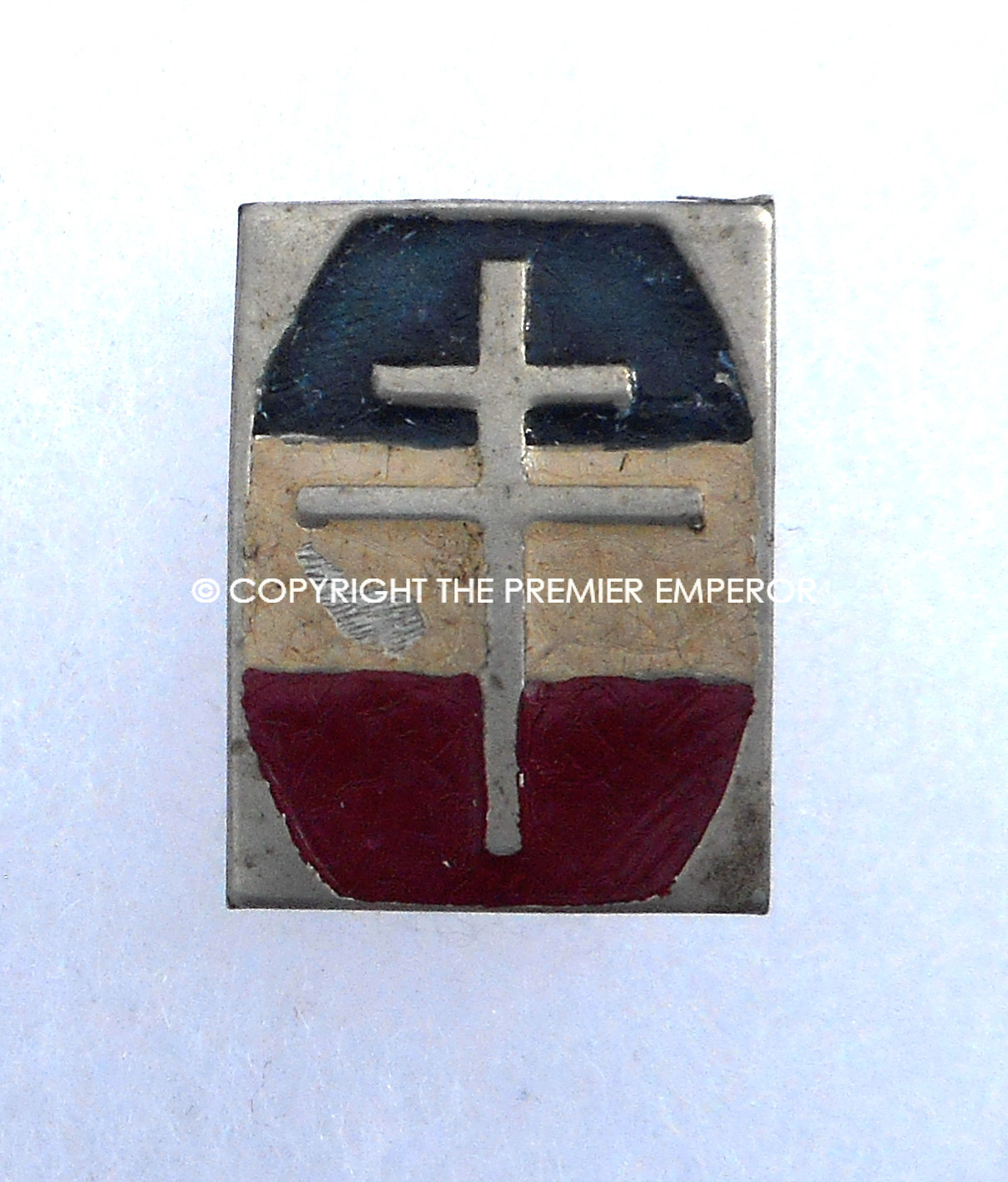 France Maquis/Resistance pin backed badge  Circa 1944