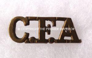 Canada. Canadian Field Artillery shoulder title.Circa.1914/18