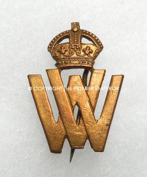 British 1914/1918 Great War Volunteer War Workers badge.