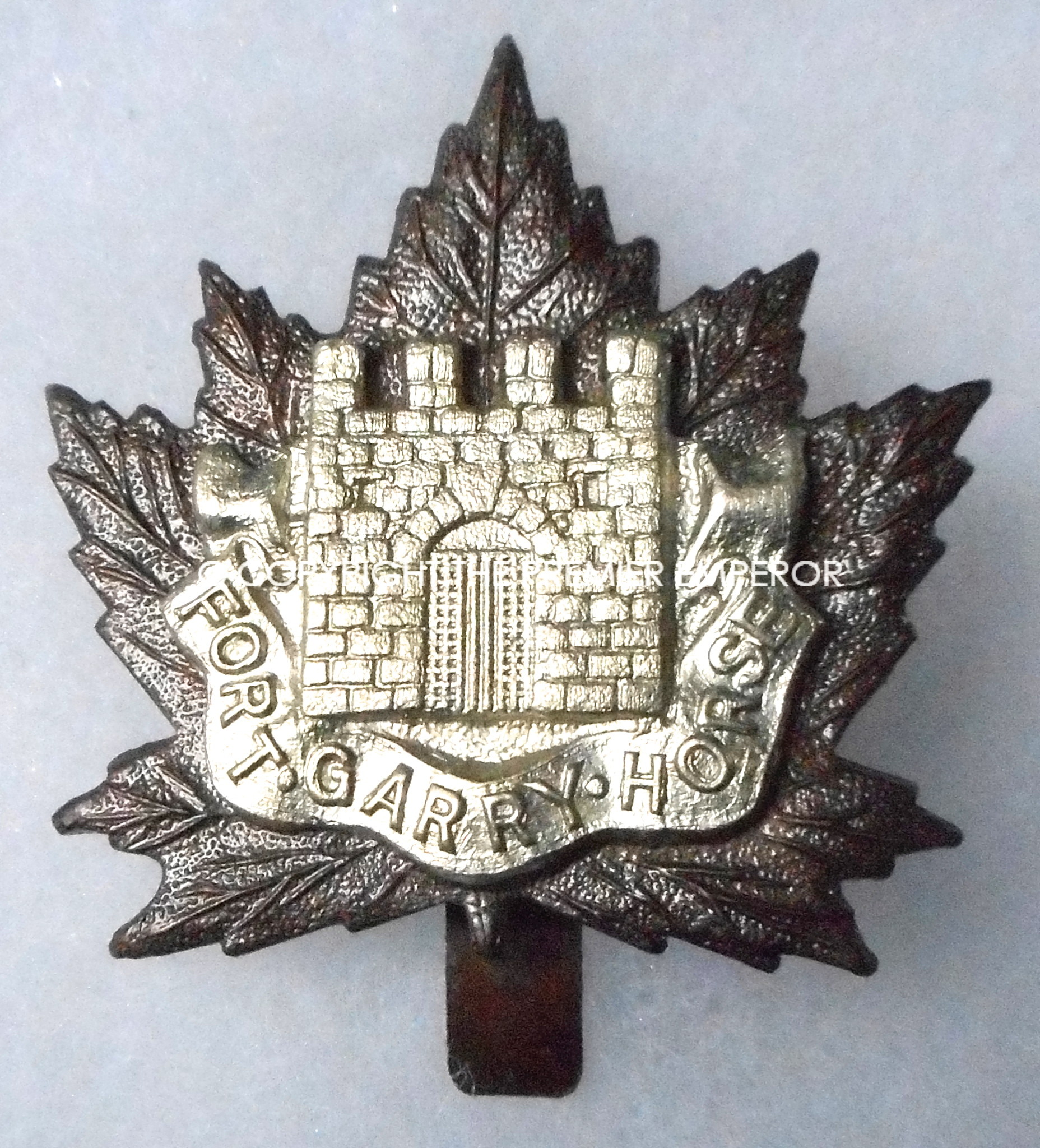 Canada  Fort Garry Horse cap badge Circa 1914-1945