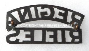 Canada. The Regina Rifles shoulder title. Circa.1930