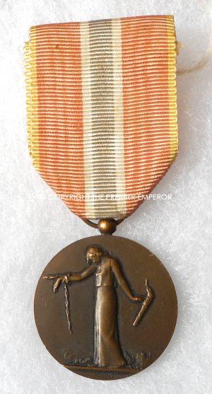 France.Great War Médaille des Prisonniers Civils, Déportés et Otages de la Grande Guerre, 1914-1918