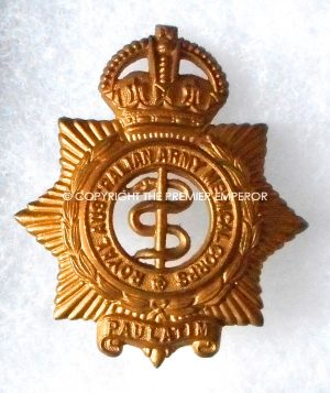 Australian Army Medical Corps cap badge.