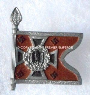 """German Tinnie/Day badge. Army pennant """"Aufklarungsabteilung"""" Circa.1930's/1940's."""