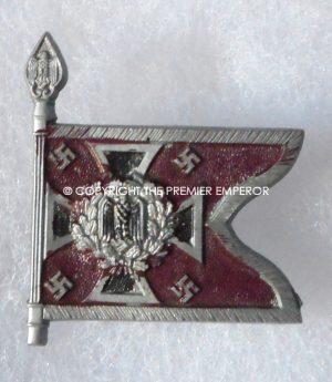 "German Tinnie/Day badge. Army pennant ""Nebeltruppe"" Circa.1930's/1940's."