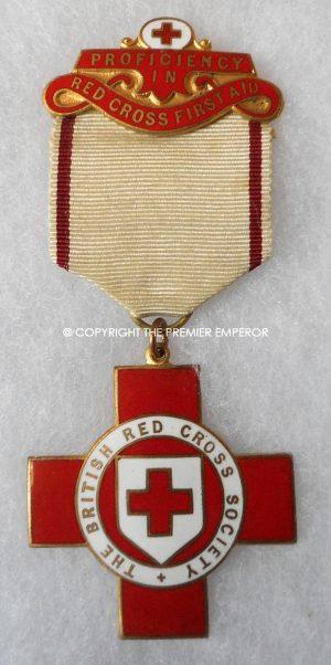 British Red Cross Society medal.Circa.1940's