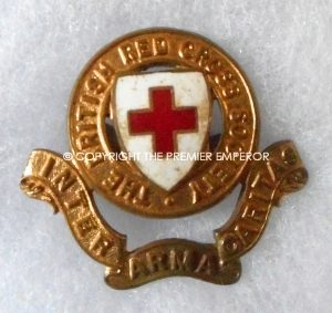 British Red Cross Society cap insignia.Circa.1940's