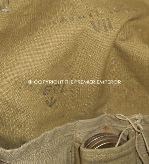 British Army Gas mask in carrying bag.No.4 MKIII. Circa.1942