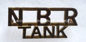 Canada. The New Brunswick Regiment(TANK) Circa.1939-1946 shoulder title.
