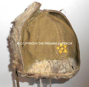 34b6647db3f Japanese Winter Warfare Army Rabbit skin Fur hat. Circa.1930 s Early 40 s  ...