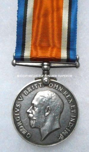 British War medal 1914/1918 A.C.2.Royal Naval Air Service.(R.N.A.S.)